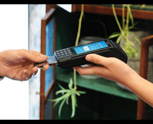 transaction terminal bancaire verifone v240m